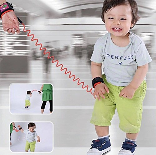 buy Kids Safety Harness, WOPOW® Spring Kids Walking Hand-Belt,Kids Toddler Walk Keeper Safety Anti-Lost Belt for sale