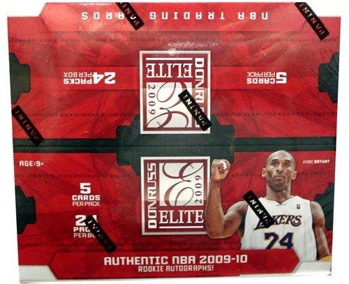 2009 10 Panini Elite NBA Basketball 24 Pack Factory Sealed Retail Box plus Autograph or Memorabilia