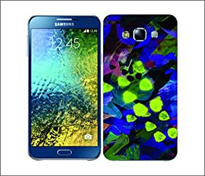 Galaxy Printed 2493 Neon Pattern Abstract Hard Cover for Samsung A3