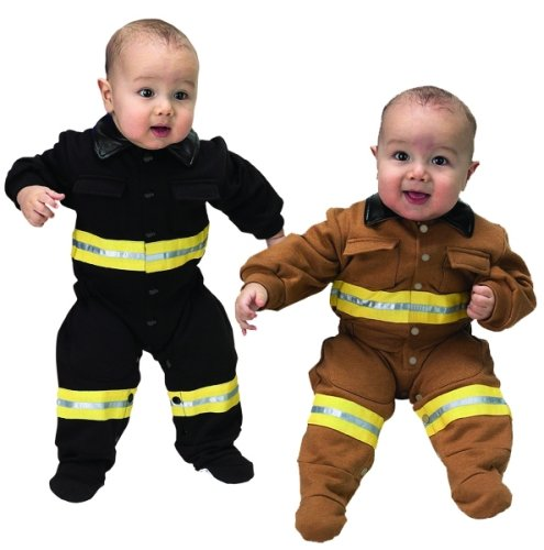 Fire Fighter Infant & Toddler Costume