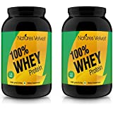 Natures Velvet Combo Of 100% Whey Protein (Unflavoured) 2.2 Lbs