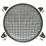 """12"""" Speaker Steel Waffle Screen Grill Kit WG12"""
