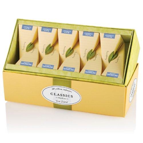Tea Forte Classics Tea Collection - 20 pieces in Ribbon Box