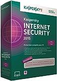 Kaspersky internet security 2015 (3 postes, 1 an)