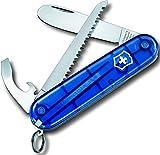 Victorinox Taschenwerkzeug Transparent Blau My First Vx, 0.2373.T2