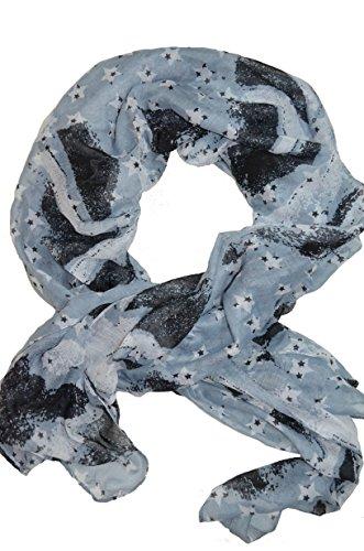 lulu-castagnette-foulard-echarpe-femme-fille-2-modeles-au-choix-neuf-gris