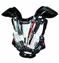 EVS Sports VEX Chest Protector (Clear/Black, Large)