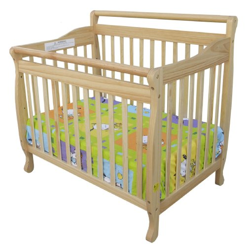 Dream On Me 3-In-1 Portable, Convertible Crib - Natural front-895234