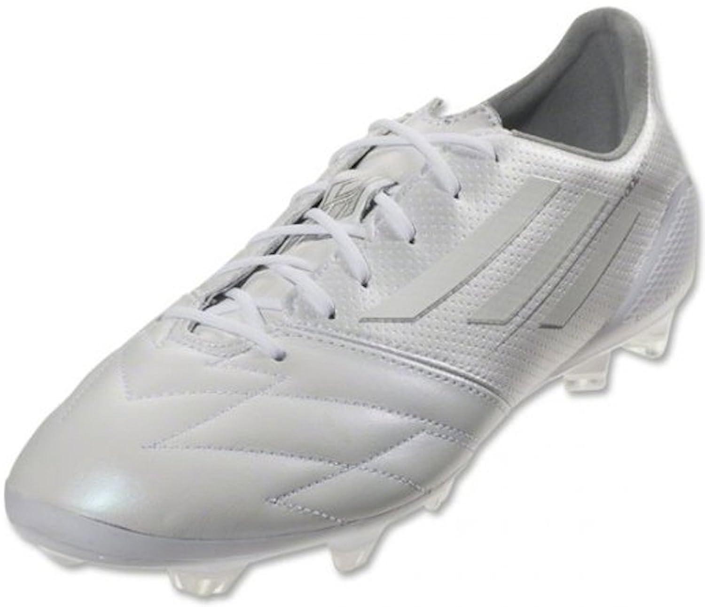 adidas Men's F50 adizero FG (Lea) RUNNING WHITE/WHITE adidas adidas f50 adizero trx fg