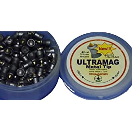 Skenco ULTRAMAG Metal Tip .22 Cal 18.2 Grains 100 Count/Box