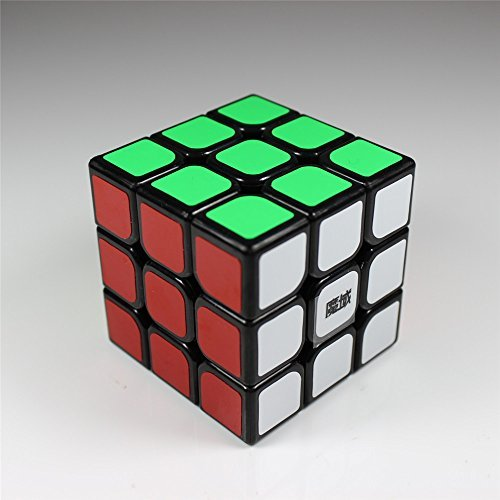 Moyu Mini Aolong 3X3X3 Speed Cube Puzzle 54.5Mm Small Size Small Black - 1