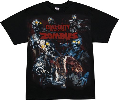 Call of Duty: Black Ops Zombies Men's T-Shirt