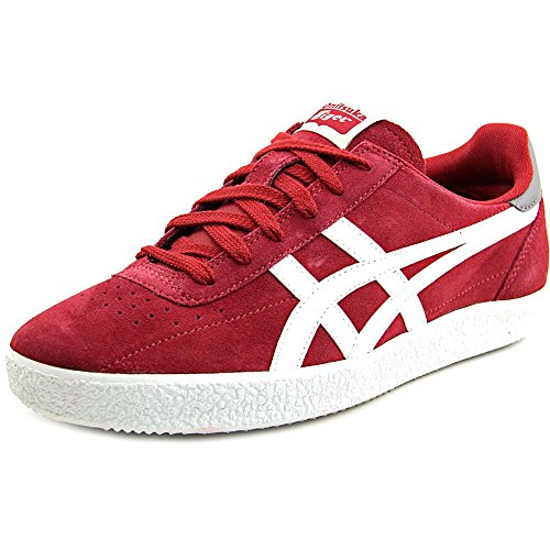 Onitsuka Tiger Vickka Moscow Fashion Sneaker,Burgundy/White,10 M US/11.5 Women's M US