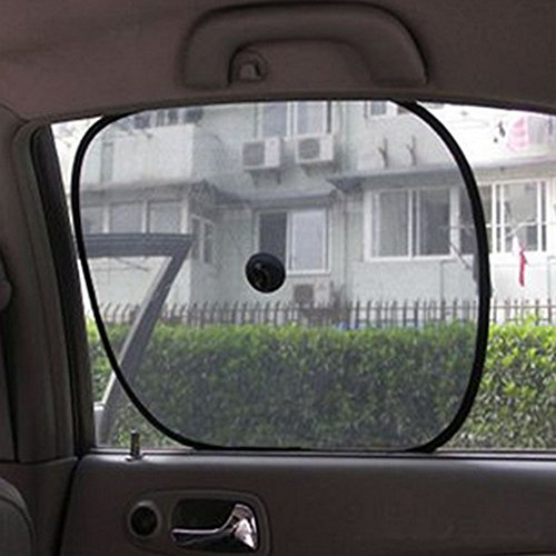 Car Shield Prices >> Cheap Price Black Cling Mesh Car Side Rear Window Sun Shade Cover