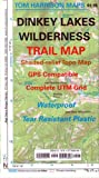 Dinkey Lakes Wilderness Trail Map