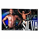 UFC Mixed Martial Arts Anderson Silva Wall Hanging