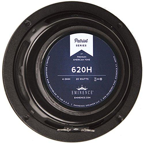 "Eminence Patriot 620H 6"" 20W Guitar Speaker Hemp Cone"