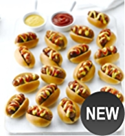 20 Mini Posh Hot Dogs