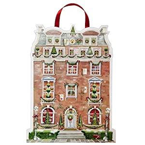 Christmas Advent Calendar - The Townhouse - a cut-out advent calendar