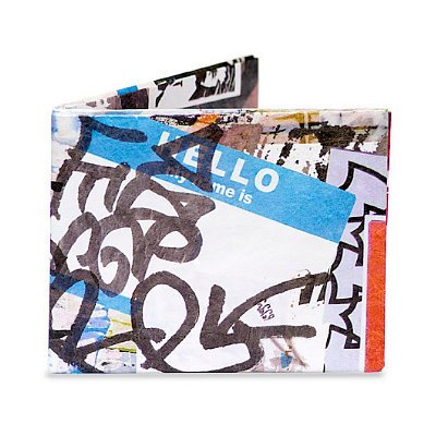Tyvek Nothing Fits. Graffitti Tyvek Mighty Wallet