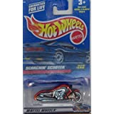 Hot Wheels 2000 240 RED SCORCHIN SCOOTER 1:64 Scale Die-cast Collectible Car