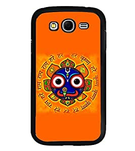 Fuson Premium 2D Back Case Cover Puri Jaganath With Black Background Degined For Samsung Galaxy Grand Neo Plus::Samsung Galaxy Grand Neo Plus i9060i