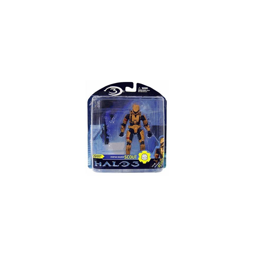Halo 3 Spartan Soldier Scout Action Figure on PopScreen