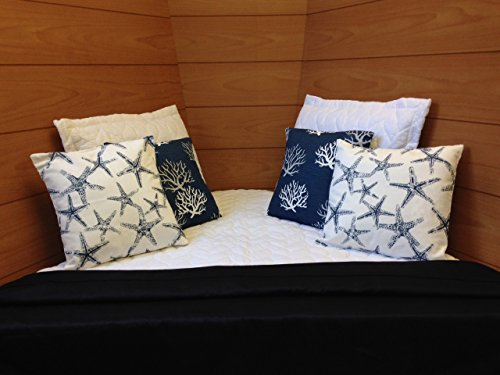 Boat Bedding - Bar Harbor Boat Bedding Collection - Universal V Berth -Made in Maine - Boat Bedding Gift Set (Made In Maine compare prices)