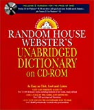 img - for Random House Webster's Unabridged Dictionary (Version 3.0 for Windows 95/98/NT & Version 2.2 for Windows 3.1) book / textbook / text book