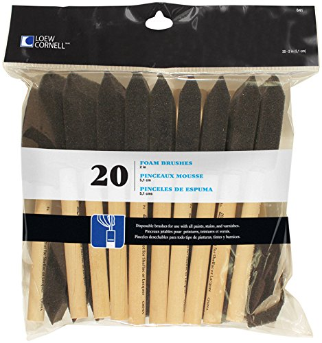 loew-cornell-841-20-piece-foam-brush-set-2-inch