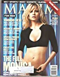 Maxim Magazine March 2001 Monica Potter Cover and Pictorial, Brooke Burke, Nichole Robinson, Honor Bliss