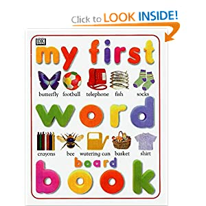 Amazon.com: My First Word Board Book (My First Books (Board Books ...