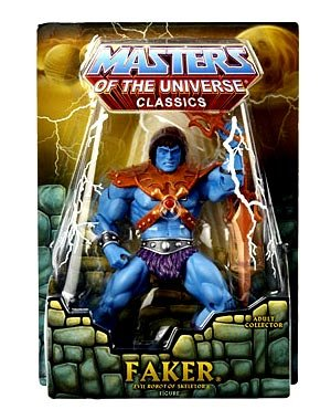 Picture of Mattel He-Man Masters of the Universe 2009 NYCC New York Comic-Con Exclusive Action Figure Faker (B001TQEH08) (Mattel Action Figures)
