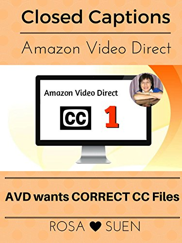 Amazon Video Direct Requires Closed Caption Files for our Videos