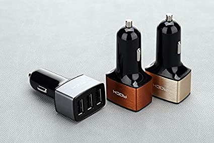 Rock-4.8A-3-USB-Ports-Car-Charger