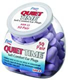 Flents Quiet Time Soft Comfort Ear Plugs  50 Pair