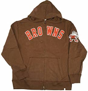NFL Cleveland Browns Mens Striker Full Zip Jacket by