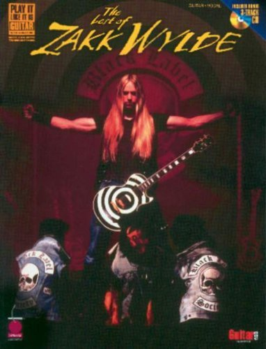 The Best of Zakk Wylde [With CD with 3 Full-Performance Bonus Tracks] (Play-It-Like-It-Is) by Zakk Wylde (Recorder) (1-Mar-2001) Sheet music