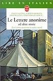 echange, troc Éliane Bayle - Le Lettere anonime ed altre storie