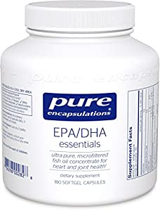 Pure Encapsulations - EPA/DHA Essentials 1000mg 180 Softgels