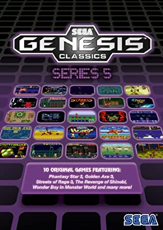 SEGA Genesis Classics Series 5 [Online Game Code]