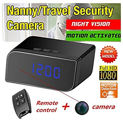 1080P HD Spy Hidden Camera Video Recorder Mini DVR Camcorder