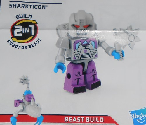 TRANSFORMERS Kre-O MICRO CHANGERS FIGURE - SHARKTICON - (SERIES 3)