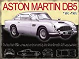 ASTON MARTIN DB5 CLASSIC CAR MINI METAL SIGN 8