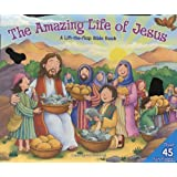 Amazing Life of Jesus: Lift-the-Flap: A Lift-the-Flap Bible Book ~ Allia Zobel-Nolan
