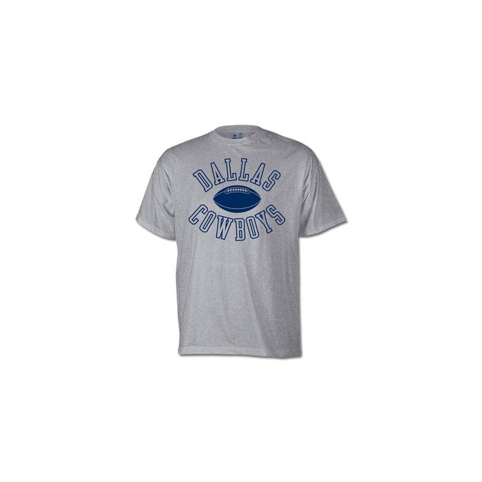 Dallas Cowboys NFL Distance Jersey Tee Shirt GREY