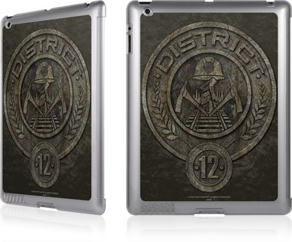 Skinit The Hunger Games -District 12 Stone Logo for LeNu Case for Apple New iPad / iPad 2