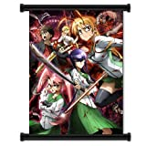 High School of the Dead Anime Fabric Wall Scroll Poster (31 x 42) Inches
