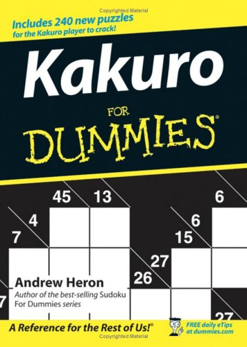 Kakuro For Dummies, Andrew Heron