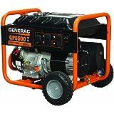 Generac 5939 GP5500 5,500 Watt 389cc OHV Portable Gas Powered Generator